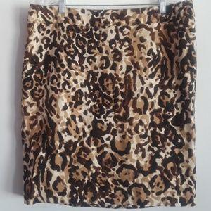 Merona Leopard Skirt